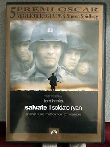 DVD-SALVATE-IL-SOLDATO-RYAN-1998-Special-Edition-2-Dvd-TOM-HANKS-2-OSCAR