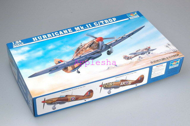 Trumpeter 02416 1 24 Hawker Hurricane Mk.IIC Trop