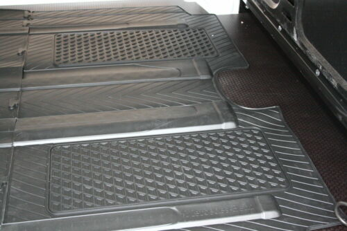 Mercedes Original Rubber Floor Mats W 639 Facelift Viano//Vito Rhd Complete New