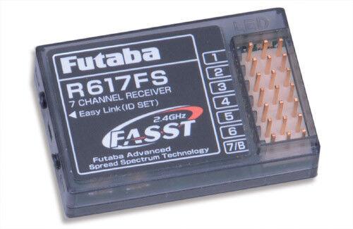 Futaba Futaba Futaba RX 7Ch 2.4Ghz R617FS 13b484