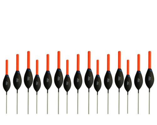 POLE FLOATS Denisa DC8 different SIZES and LOTS in new TACKLE BOX