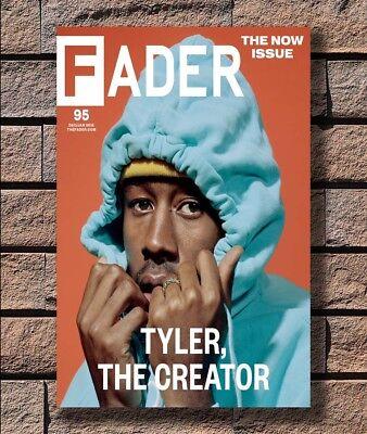 Hot Tyler the Creator Hip Hop Rap New Art Poster 40 12x18 24x36 T-3437