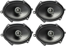 "Pair MB QUART FKB110 4/"" 160 Watt Car Stereo Coaxial Speakers"
