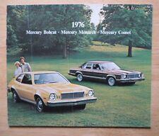 MERCURY orig 1976 USA Mkt sales brochure - Bobcat Monarch Comet
