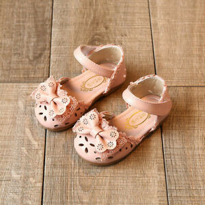 Toddler-Infant-Kids-Baby-Girls-Elegant-Bowknot-Flower-Princess-Shoes-Sandals