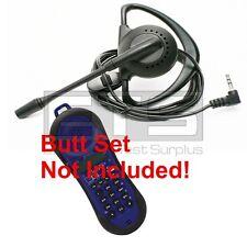 TestUm JDSU Lil Buttie LB260 LB255UK Butt Set LB40 Hands Free Headset 2.5mm Plug