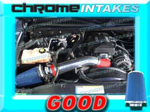 RED BLUE 99-07 CHEVY//GMC//CADILLAC TRUCKS 4.8L 5.3L 6.0L 8.1L COLD AIR INTAKE