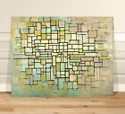 "Piet Mondrian Abstract Trees ~ FINE ART CANVAS PRINT 16x12"" Abstact"