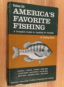 AMERICA-039-S-FAVORITE-FISHING-A-Complete-Guide-to-Angling-for-Panfish-HC-DJ-1970