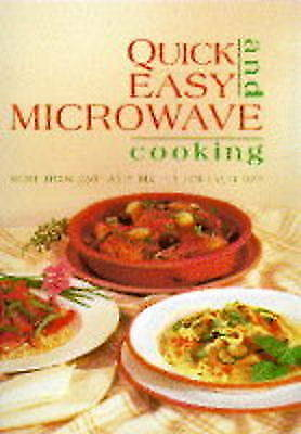 QUICK AND EASY MICROWAVE COOKERY., Busschau, Di., Used; Like New Book