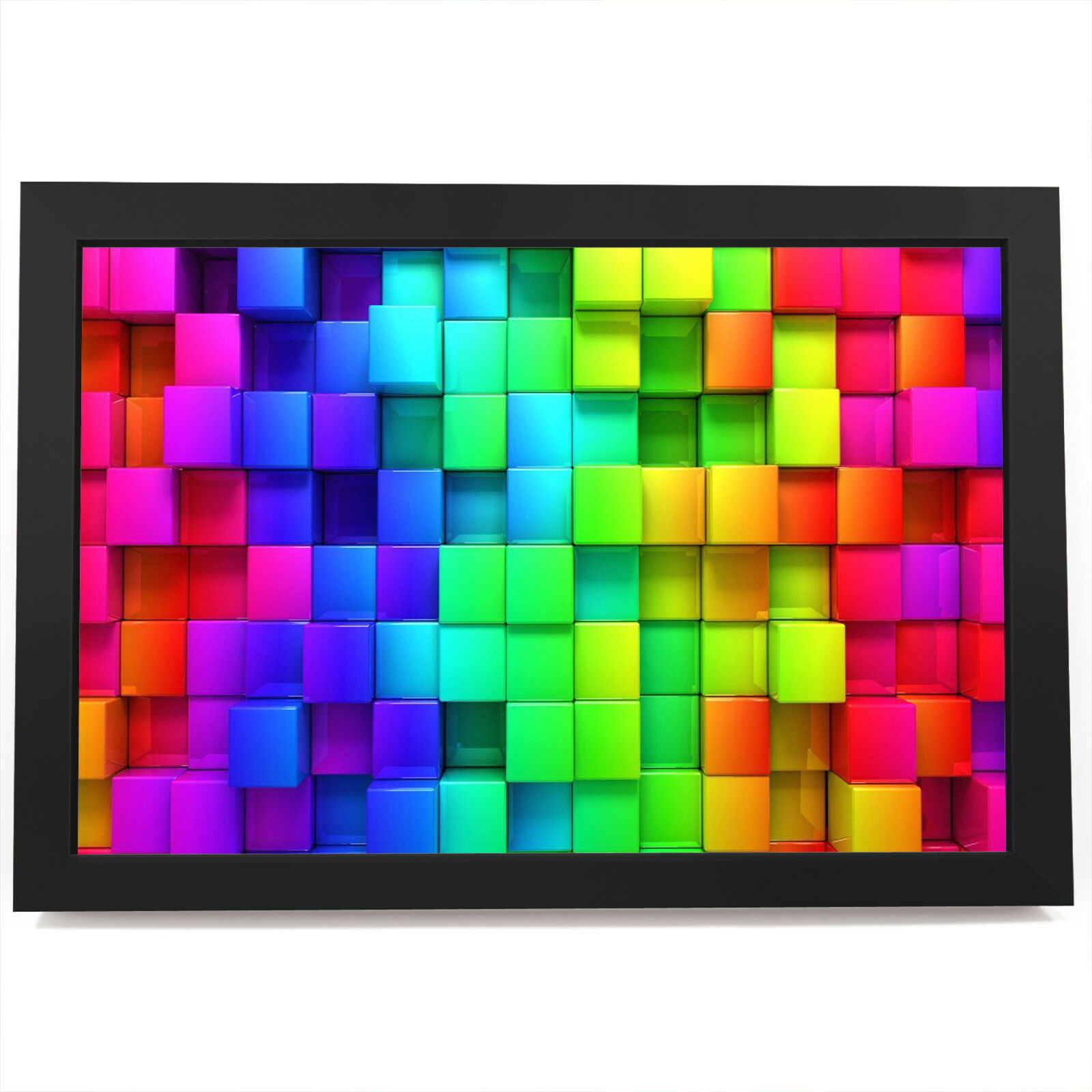 AB384 Colourful Cool Funky Modern Abstract Framed Wall Art Large Picture Prints