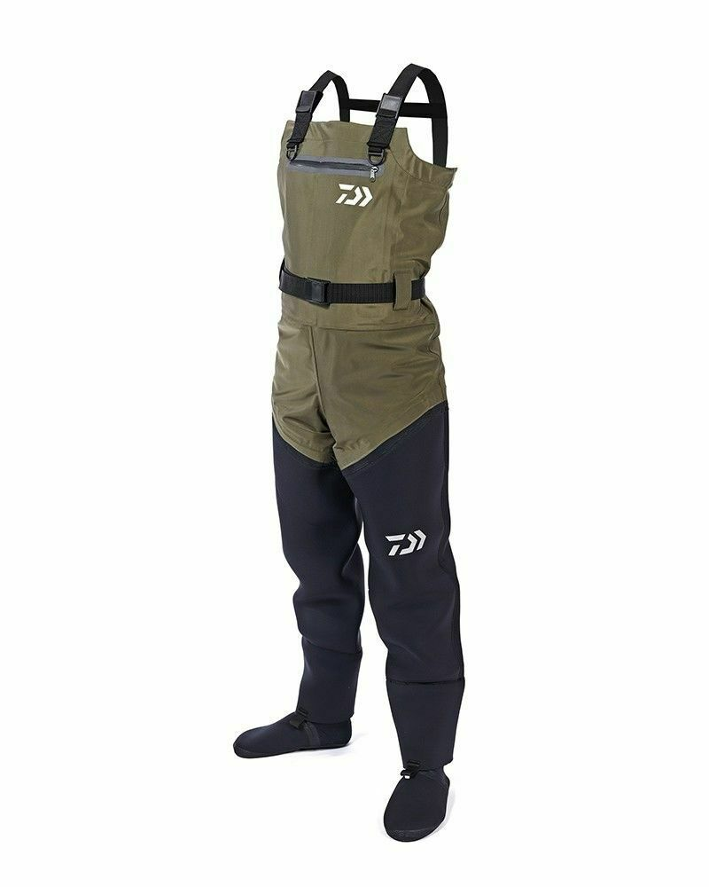 Daiwa Hybrid 4S Chest Wader All Größes Full Range Coarse Fishing