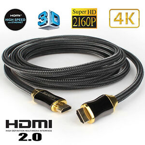 hdmi cable ultra hd 4k 3d hdr high speed compatible 2 1 2 0a 2 0 1 4 rh ebay com au