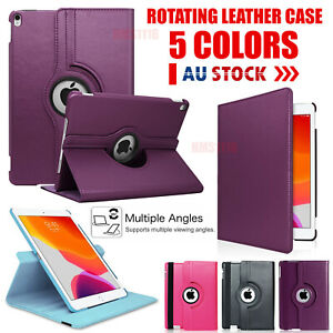 Apple iPad 8th 7th 6th 5th Gen Air 4 3 Mini 5 4 3 case Leather cover Smart Folio
