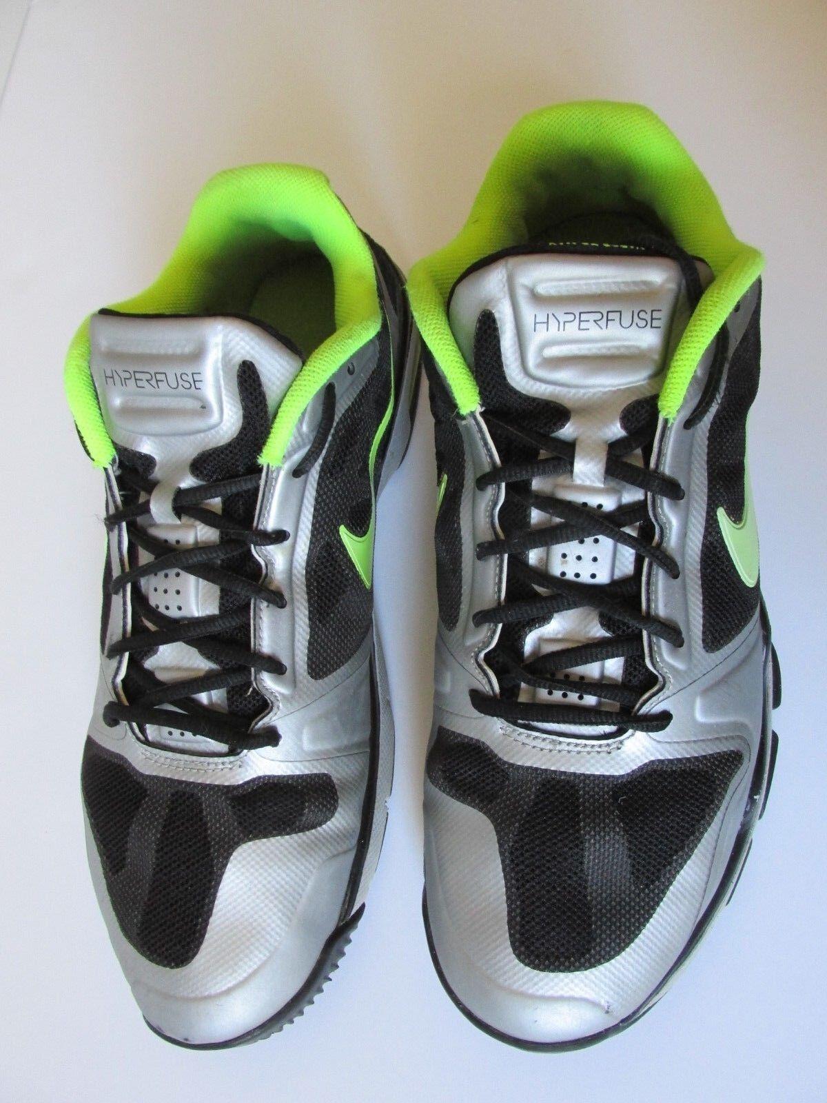 42dad3d42d266 ... Nike Hyperfuse Vapor TR TR TR Max Black Volt Metallic Silver shoes  Men s US14M 4d0ea9 ...