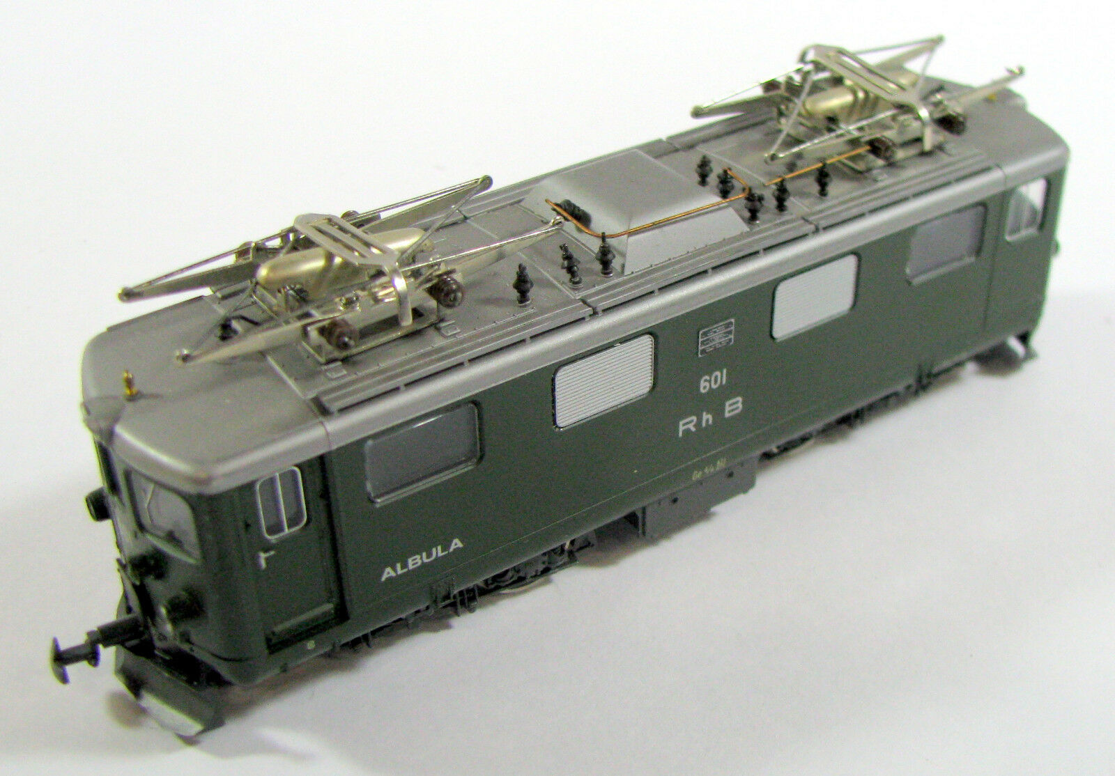 BEMO 1250 E-Lok GE 4 4 Albula RHB carreggiata stretta h0m senza imballaggio originale