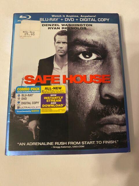 Safe House Con Slipcover (Bluray/Dvd, 2012) [Buy 2 Get 1]