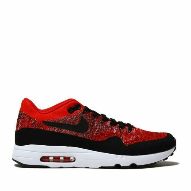 Size 9.5 - Nike Air Max 1 Ultra 2.0 Flyknit University Red 2017
