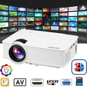 EHD09-3000-Lumens-3D-1080P-LED-Video-Projecteur-Multimedia-HDMI-USB-SD-AV-NEW-FR