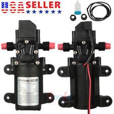 12v Water Pump 130psi Self Priming Pump Diaphragm High Pressurefilter Net Tube