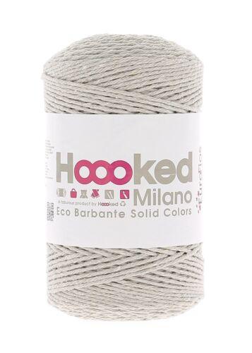Hoooked Milano Eco barbante hilado de algodón elige color de menú reciclado