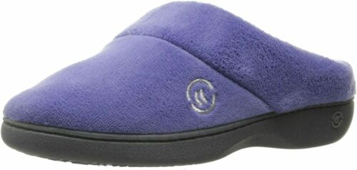 Indo Comfort and Arch Support Details about  /isotoner Women/'s Terry Slip In Clog Memory Foam