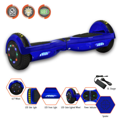 """Levit8ion 6.5/"""" ION Hoverboard w//Bluetooth LED Built-in Speaker UL 2272 Certified"""