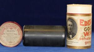 Edison Goldguss Walze Der Musikalische Clown Humor Vortrag Carl Lüdicke 15465 Geschickte Herstellung Phonographen Antiquitäten & Kunst