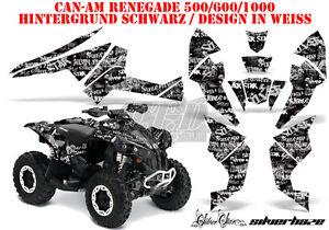 AMR DEKOR KIT ATV CAN-AM RENEGADE, DS250,DS450,DS650 SILVERSTAR SILVERHAZE B
