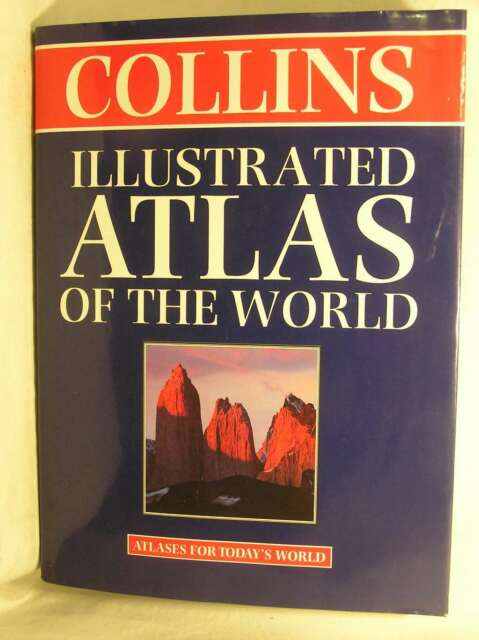 Collins Illustrated Atlas of the World (World Atlas), , Excellent Book