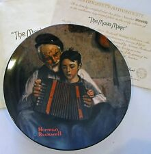 Norman Rockwell 1981 Collector Plate The Music Maker Knowles China Co