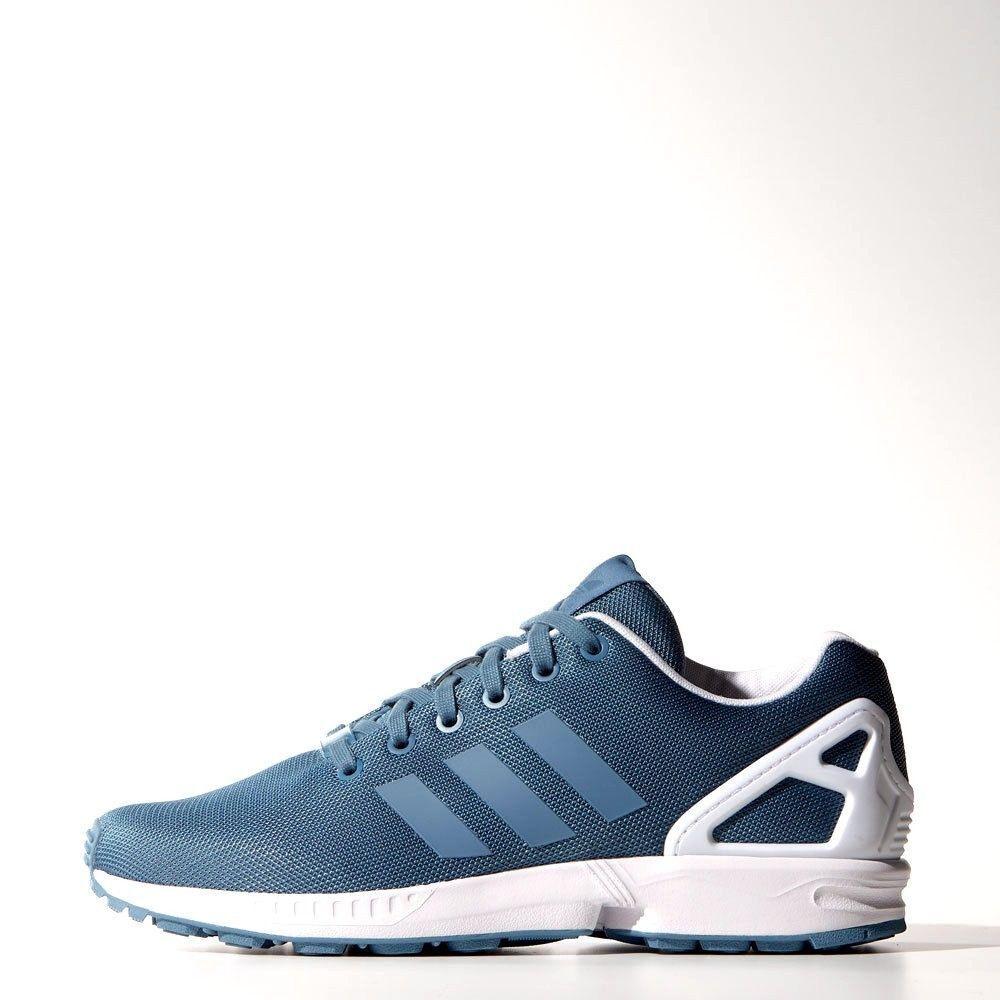 Adidas zx flux stonewash bluee UK 9.5