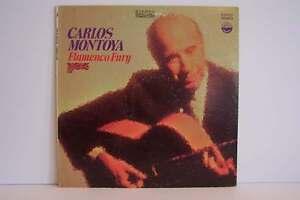 Carlos Montoya - Flamenco Fury Vinyl LP Record Album SD