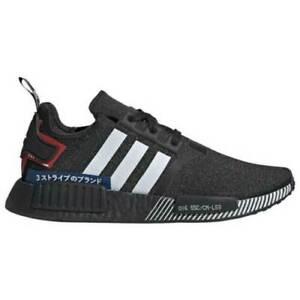 Adidas-Originals-NMD-R1-Moto-Japan-Pack-Shoes-EF1734-Black-White-Mens-11-5-Boost