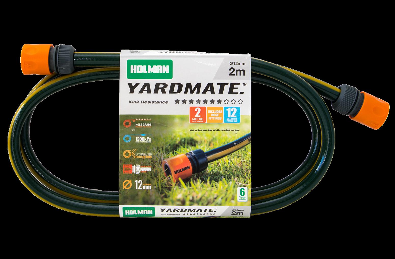 Holman YARDMATE GARDEN HOSE *Australian Brand- 12mmx2m, 12mmx15m Or 12mmx30m