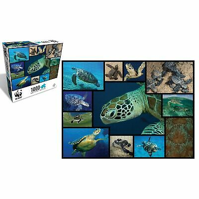 WWF 1000 Piece Puzzle Marine Turtles