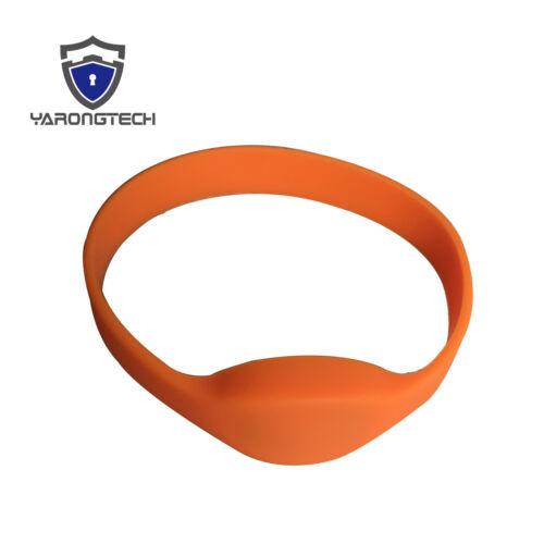 13.56MHZ MIFARE Classic 1K Wristband Unique ID RFID 1K Silicone Bracelet 5