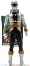 Power Rangers Kaizoku Sentai Gokaiger Gokai Silver Soft Vinyl Action Figure