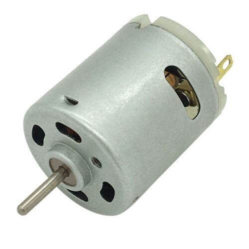 12V DC 6000RPM Torque Magnetic Mini Electric Micro Motor For DIY Toys S!