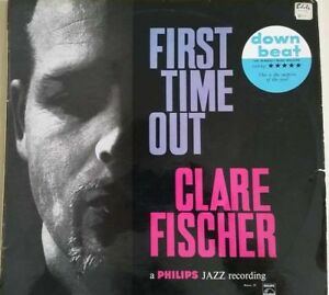 1960s-CLARE-FISCHER-GARY-PEACOCK-FIRST-TIME-OUT-LP-UNIQUE-OZ-SLEEVE-MONO-EX