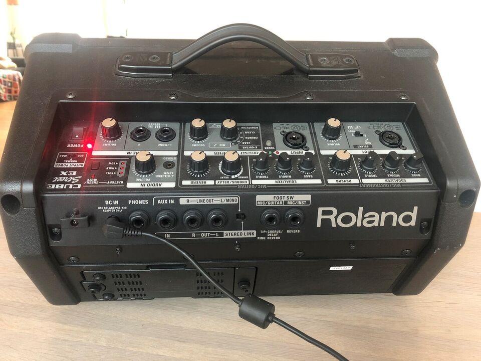 Keyboardforstærker, Roland Cube street EX