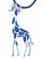 Giraffe Mood Necklace Color Change Pendant Necklace Liquid Crystal Thermo