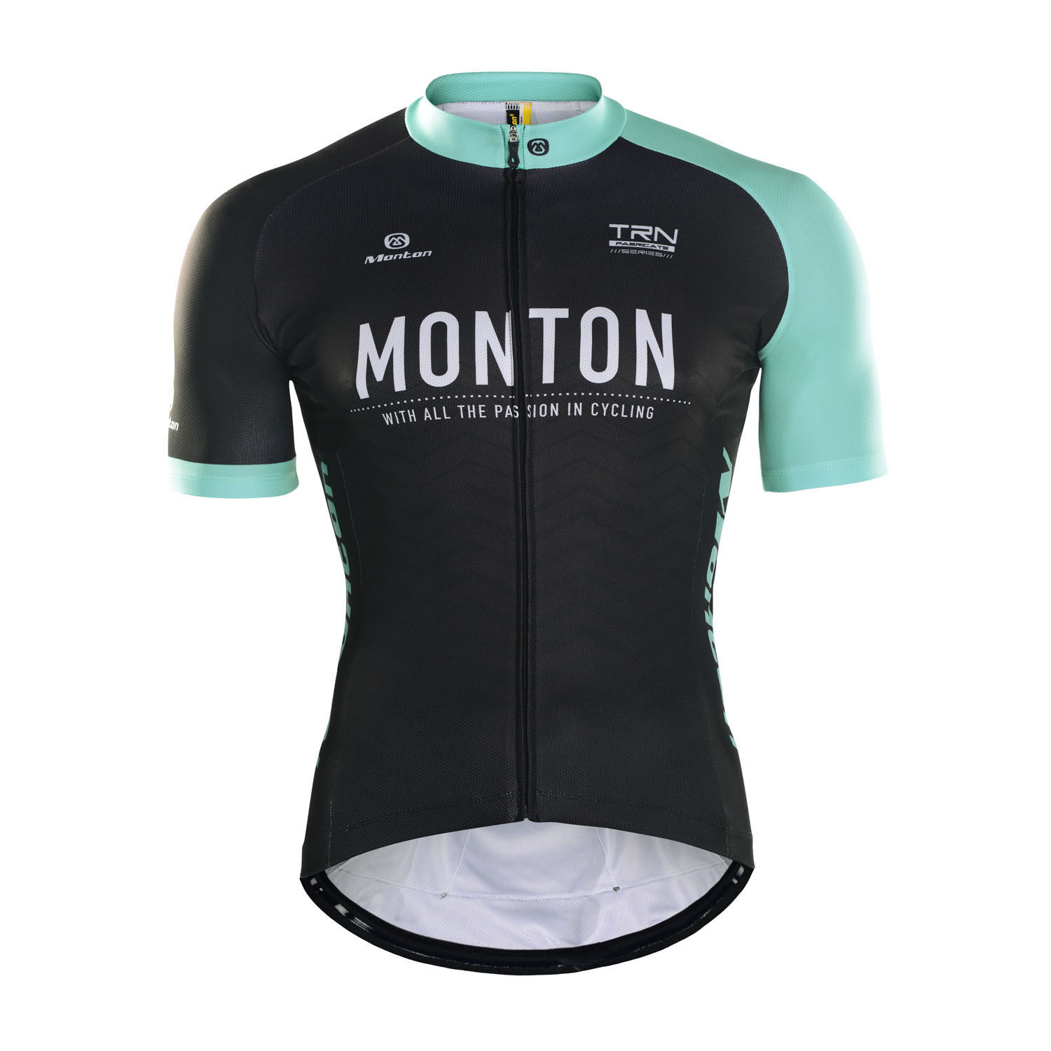 Monton 2016 Mens Short Sleeve Cycling Jersey Blazers Morning Light Bicycle Top