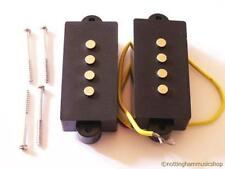 Electric bass guitar precision pickup set pair PB or jazz pickups new + screws