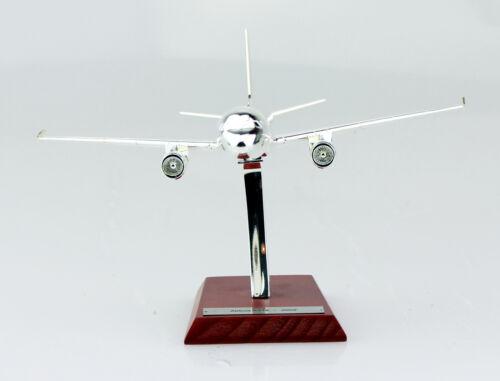 Airbus a318 2002 cromado avión leyendas atlas 1:200 modelo de avión 18