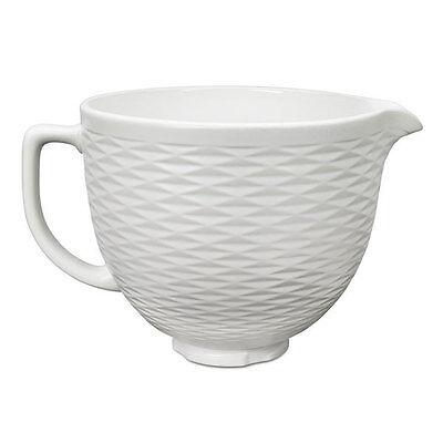KitchenAid Classic 5KSMCB5TLW Keramikschüssel Weiß strukturiert