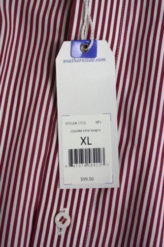 Classico Bottoni Tide Con Rosso Taglio Camicia A Bianco Logo Righe Southern zZ6qtxz
