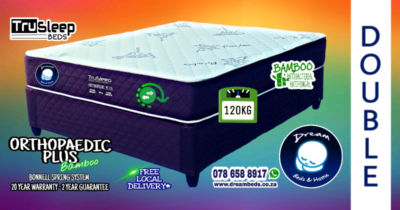 ORTHOPAEDIC DOUBLE 120KG GUARANTEED! Free Delivery R3699