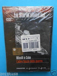 la-storia-siamo-noi-n-5-missili-a-cuba-l-039-altra-faccia-della-guerra-dvd-nuovo-gq