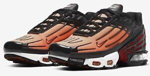 Détails sur Taille UK 6.5 nike air max plus 3 III Homme Tigre Orange Baskets6 et demi afficher le titre d'origine